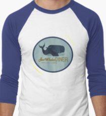 Camiseta ¾ bicolor para hombre Two Whales Diner Tee (más ligero)