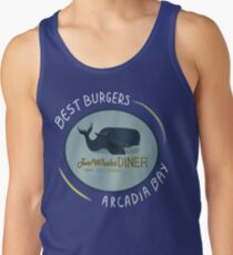 Two Whales Diner Tee (lighter) Tank Top