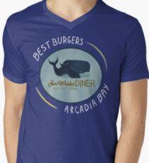 Two Whales Diner Tee (leichter) T-Shirt mit V-Ausschnitt