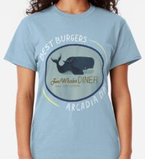 Two Whales Diner Tee (lighter) Classic T-Shirt