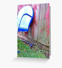 Sit Back & Relax Greeting Card