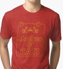 Mother Of Cats1 Tri-blend T-Shirt