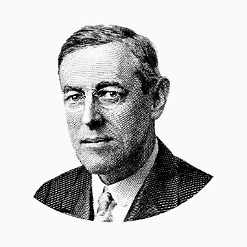 Presidente Woodrow Wilson Graphic de warishellstore