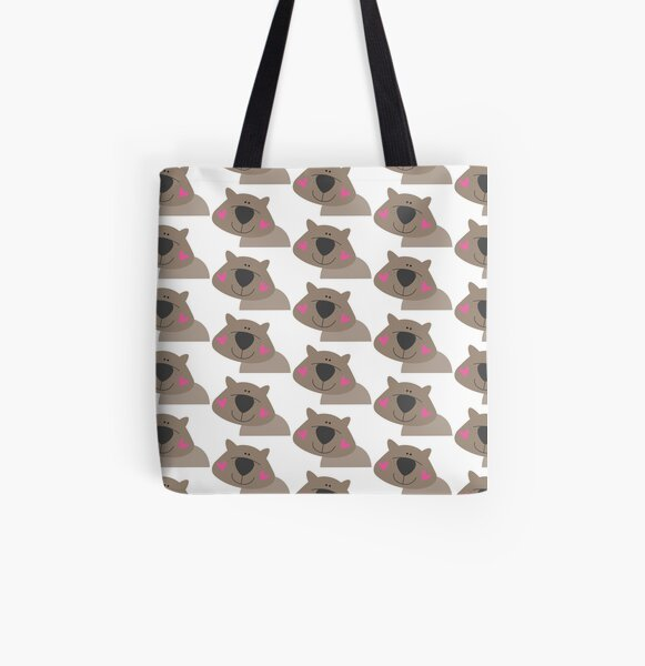 Cutie wombat All Over Print Tote Bag