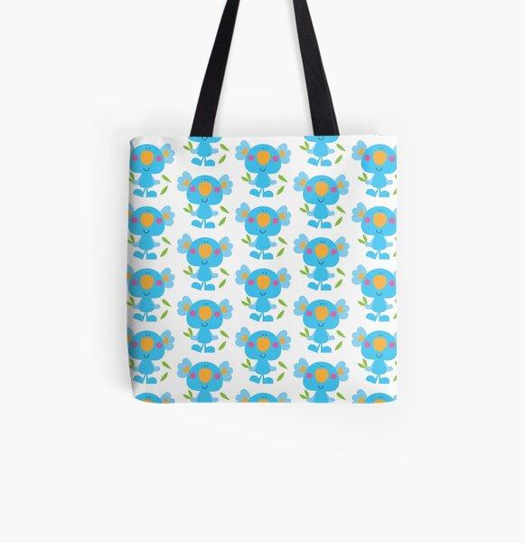 Koala Love All Over Print Tote Bag