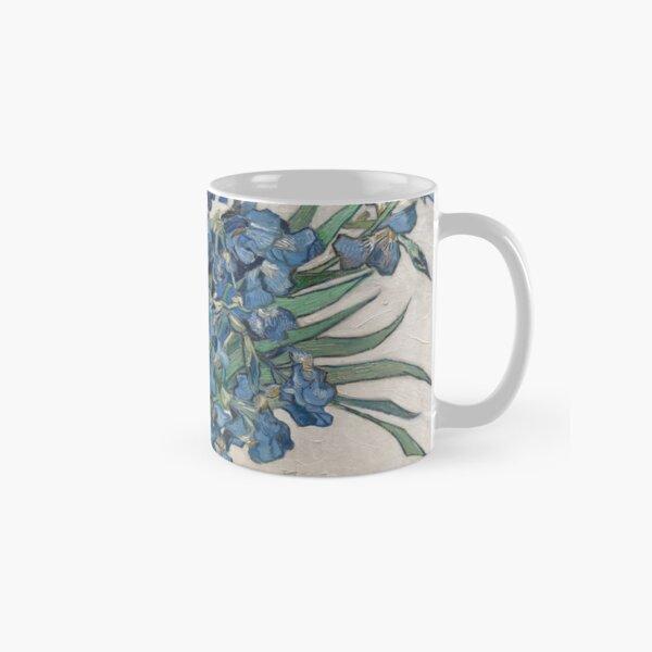 Vincent Van Gogh Irises Impressionist Painting Classic Mug