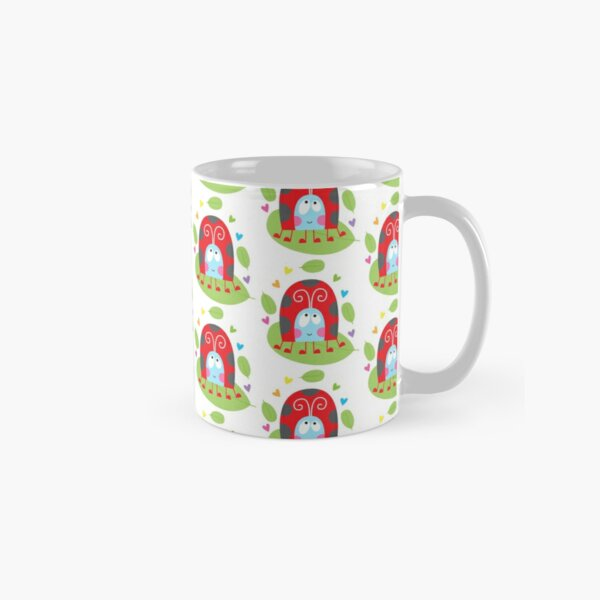 Happy ladybug Classic Mug