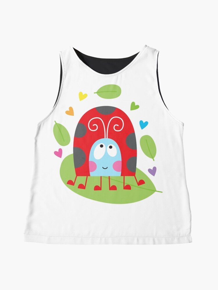 Alternate view of Happy ladybug Sleeveless Top
