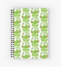 Happy frog Spiral Notebook