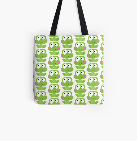Happy frog All Over Print Tote Bag