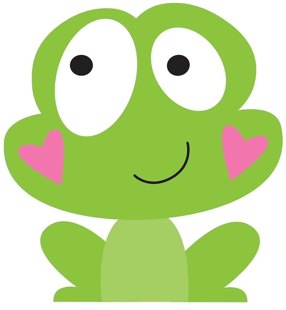 Happy frog by fromthepond