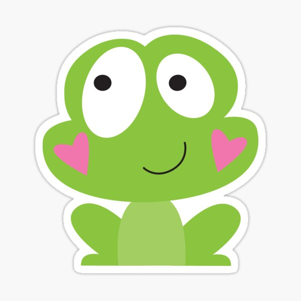 Happy frog Sticker