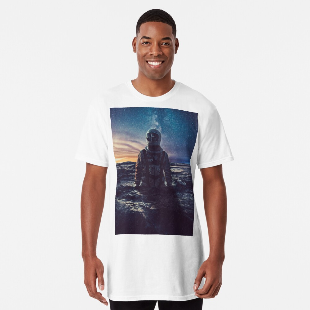 Stranded Long T-Shirt