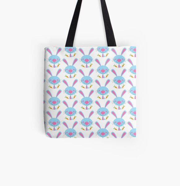 Cutie bunny All Over Print Tote Bag