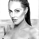 Angelina Jolie by Michael Todd