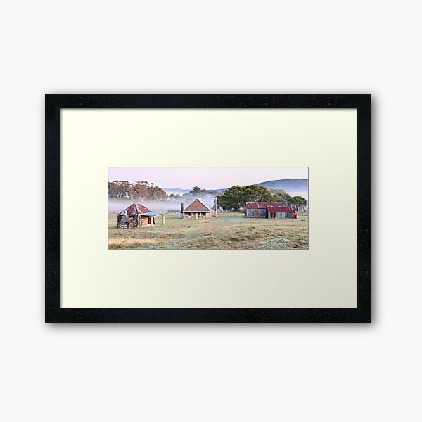 Coolamine Homestead, Kosciusko National Park, NSW, Australia Framed Art Print
