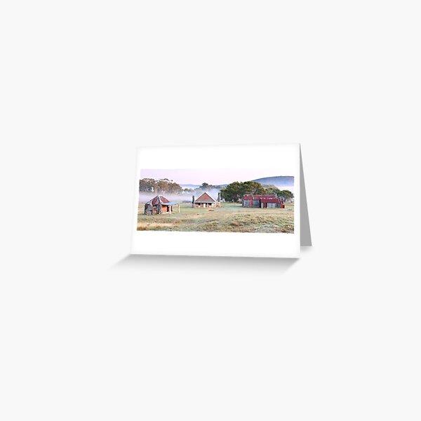 Coolamine Homestead, Kosciusko National Park, NSW, Australia Greeting Card