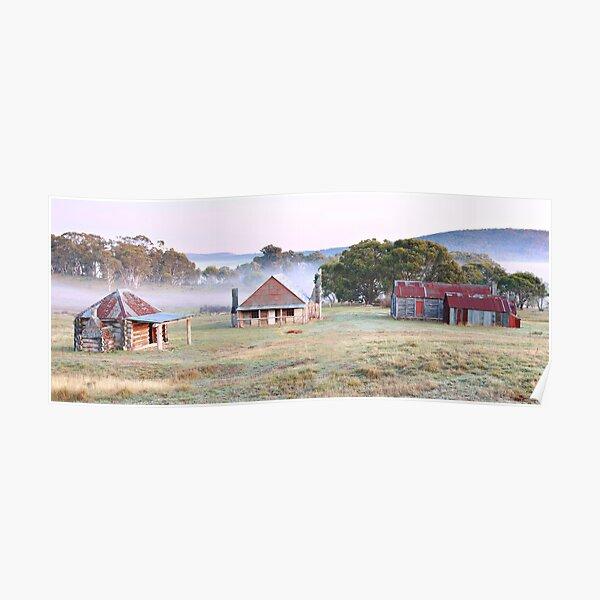 Coolamine Homestead, Kosciusko National Park, NSW, Australia Poster