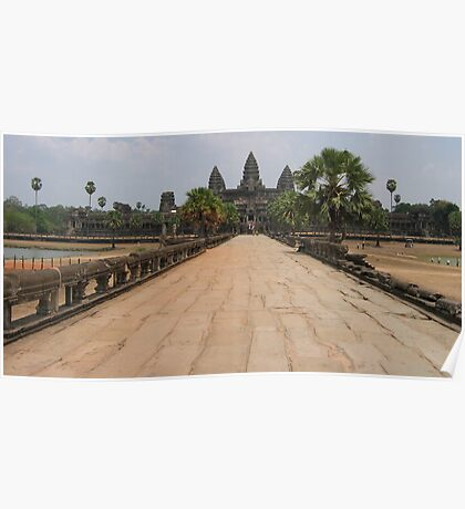 The Temple of Ankhor Wat Poster
