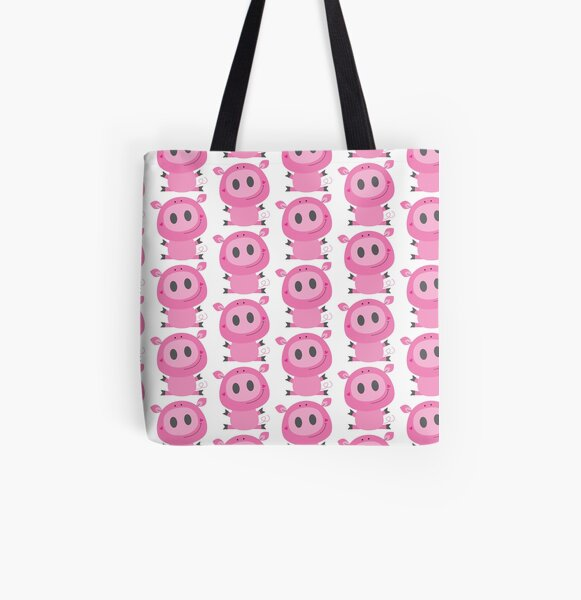 Cutie pig All Over Print Tote Bag