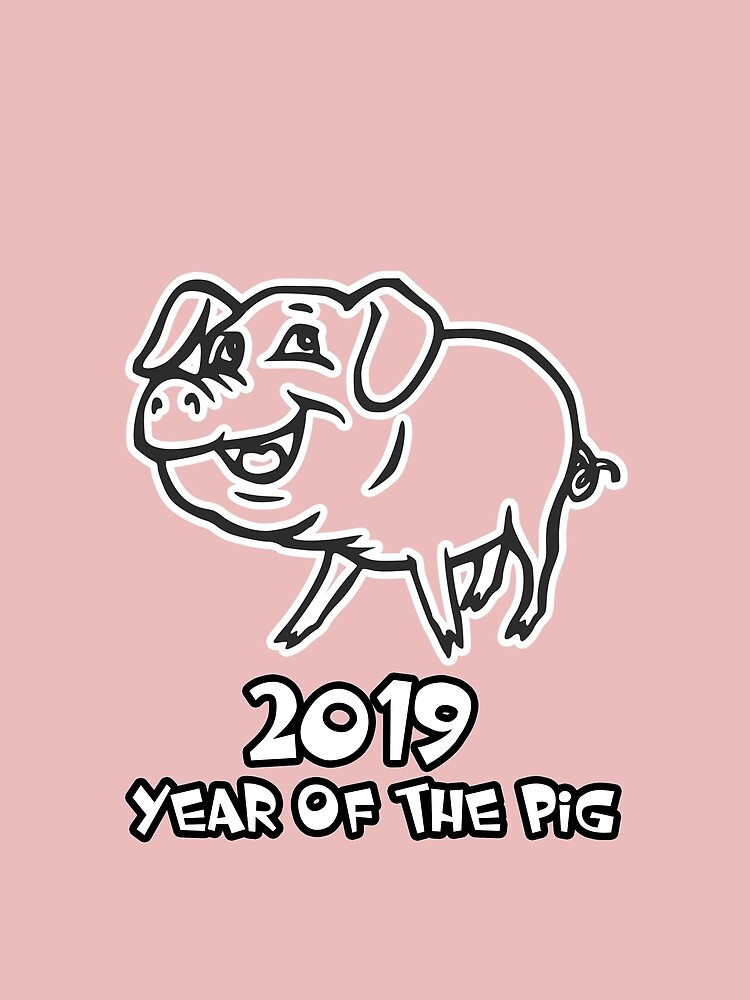 Year of The Pig 2019 by cadcamcaefea