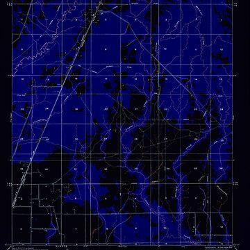 USGS TOPO Map Louisiana LA Foley 333775 1950 31680 Inverted by wetdryvac