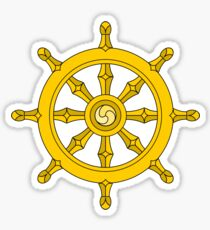 Dharma Wheel Sticker