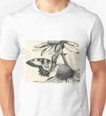Dotted Butterfly Unisex T-Shirt