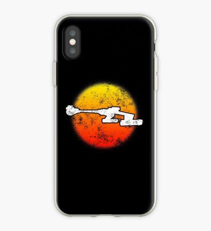 Star Empire Battle Cruiser D7 Flyby - Dark iPhone Case