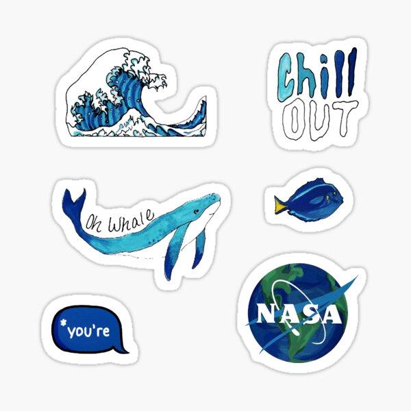 Blue Pack Sticker