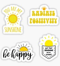 Sun Pack Sticker