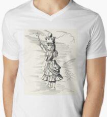 Queen Alice Men's V-Neck T-Shirt