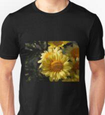 Yellow Mums Unisex T-Shirt