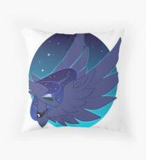Princess of the Moon Throw Pillow