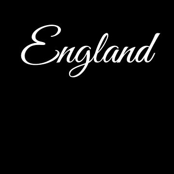 England lettering design by phys