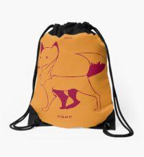 For Fox Sake Drawstring Bag