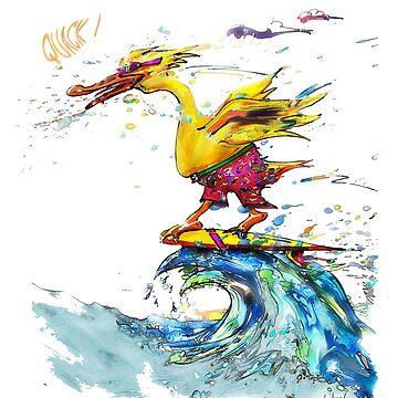 Surfin' Duck by victor