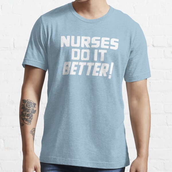 Nurses Love Rock N Roll Too Essential T-Shirt