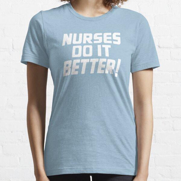Nurses Love Rock N Roll Too Essential T-Shirt