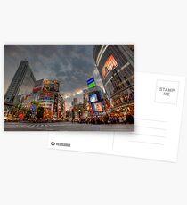Shibuya • Tokyo • Japan Postkarten