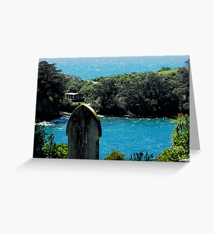 A heavely View Greeting Card