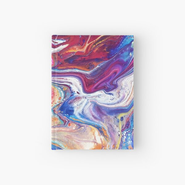 Color Flow Hardcover Journal