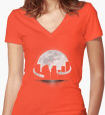 GoodNight Fitted V-Neck T-Shirt