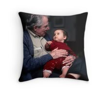 Mutual Fascination Throw Pillow
