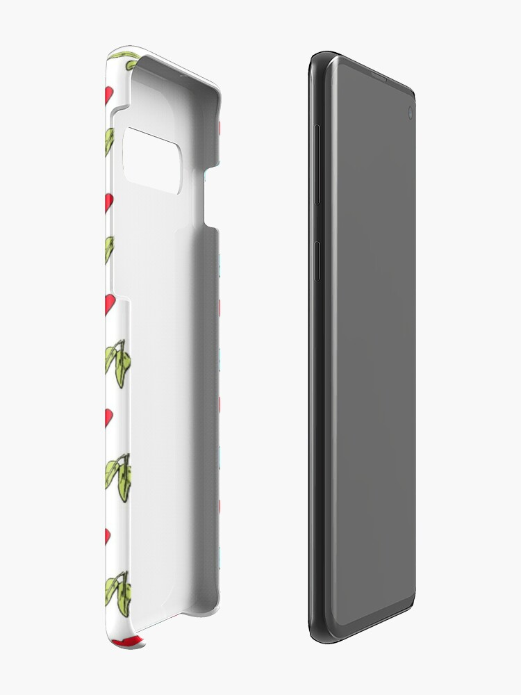 Alternate view of Koala Loves Eucalyptus Leaves Pattern Case & Skin for Samsung Galaxy