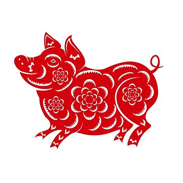 Red Pig | 2019 - Year of the Pig by mcaussieb