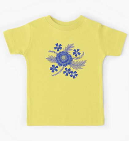 Blue Peony Kids Clothes