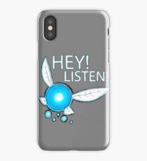 Navi!  HEY! LISTEN! iPhone Case