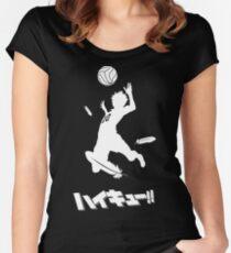 Haikyuu!! Hinata spike Women's Fitted Scoop T-Shirt