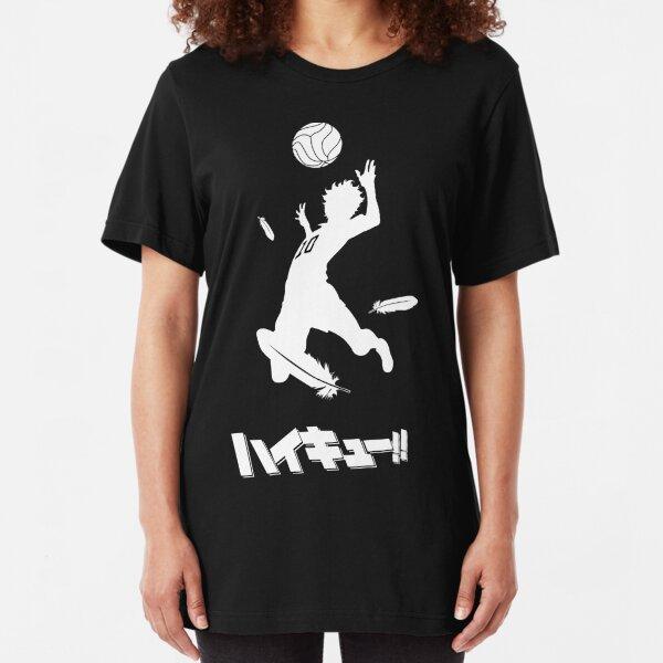 Haikyuu!! Hinata spike Slim Fit T-Shirt